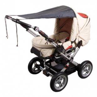 Sunnybaby Markise für Kinderwagen UPF 50+ Schwarz - schwarz