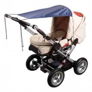 Sunnybaby Markise für Kinderwagen UPF 50+ Marine - blau