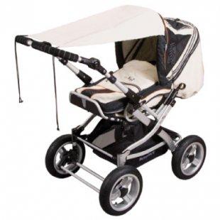 Sunnybaby Markise für Kinderwagen UPF 50+ Sand - beige