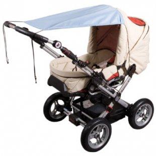 Sunnybaby Markise für Kinderwagen UPF 50+ Kristallblau