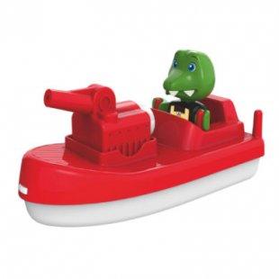 AquaPlay Feuerwehrboot mit Spielfigur