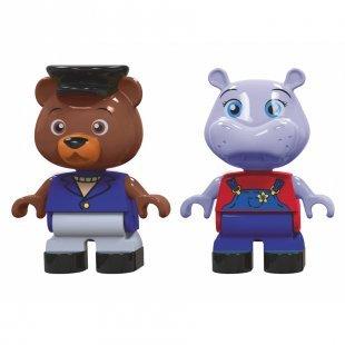 AquaPlay Figurenset Hippo und Bär