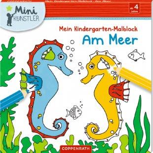COPPENRATH Mini-Künstler: Mein Kindergarten-Malblock: Am Meer