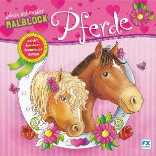 FX SCHMID Mein schönster Malblock Pferde