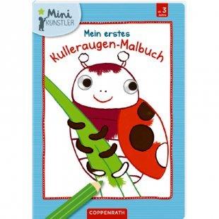 COPPENRATH Mein erstes Kulleraugen-Malbuch: Marienkäfer