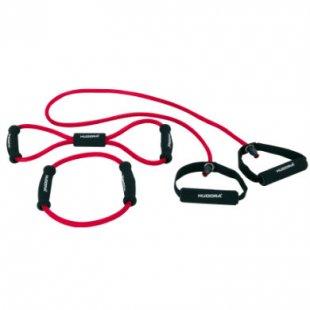 Hudora ® Fitness-Expanderset, 3-teilig 76698 - rot
