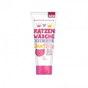 bellybutton 3in1 Dusche, Shampoo und Spülung Katzenwäsche 200 ml