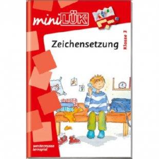 Lük mini - Lernen lernen - Zeichensetzung, 3. Klasse