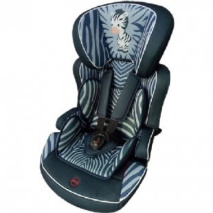 osann Kindersitz Lupo Plus Zebra grau