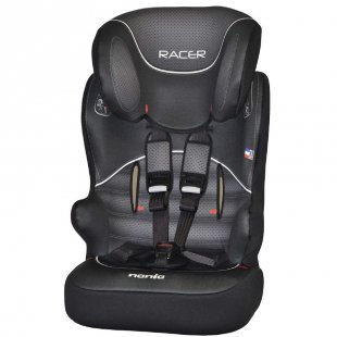 NANIA Kinderautositz Racer SP Graphic Black