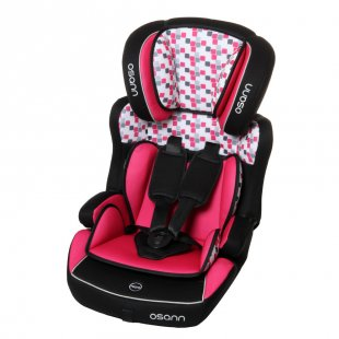 osann Kindersitz Lupo Plus Cube Pink