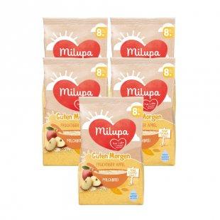 milupa Milchbrei Guten Morgen fruchtiger Apfel 5 x 400 g ab dem 8. Monat