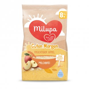 milupa Milchbrei Guten Morgen fruchtiger Apfel 400 g ab dem 8. Monat