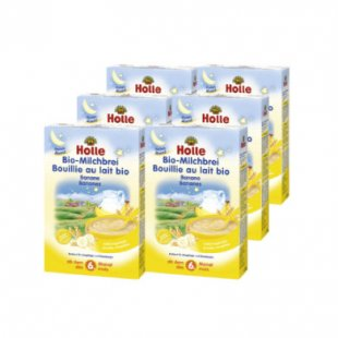 Holle Bio Milchbrei Banane 6 x 250 g