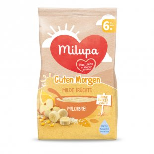 milupa Milchbrei Guten Morgen Milde Früchte 400 g ab dem 6. Monat