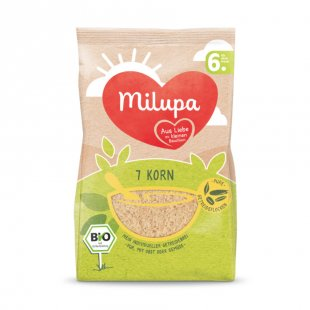 milupa Getreidebrei Bio 7 Korn 180 g ab dem 6. Monat