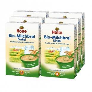 Holle Bio Milchbrei Dinkel 6 x 250 g