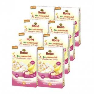 Holle Bio Juniormüsli Mehrkorn mit Frucht 8 x 250 g