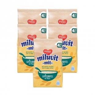 milupa Grießbrei miluvit >>mit<< 5 x 400 g ab dem 4. Monat
