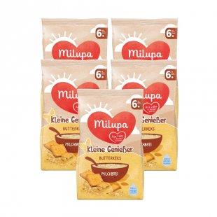 milupa Milchbrei Kleine Genießer Butterkeks 5 x 400 g ab dem 6. Monat