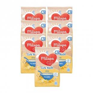 milupa Milchbrei Gute Nacht Grieß 7 x 200 g ab dem 4. Monat