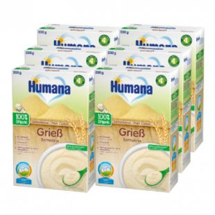 Humana Getreidebrei Grieß 6 x 200 g