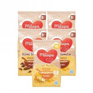 milupa Milchbrei Kleine Genießer Stracciatella 5 x 400 g ab dem 8. Monat