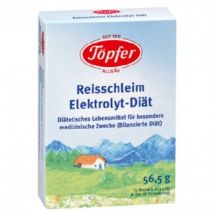 Töpfer Reisschleim Elektrolyt-Diät 56,6 g - Gr.ab 0 Monate