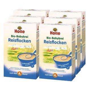 Holle Bio Babybrei Reisflocken 6 x 250 g