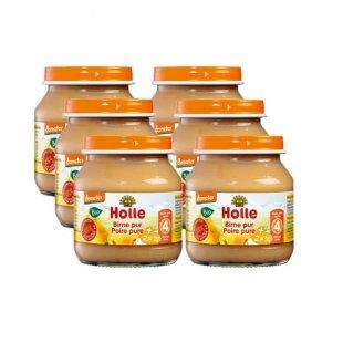 Holle Bio Birne pur 6 x 125 g