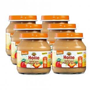 Holle Bio Apfel pur 6 x 125 g