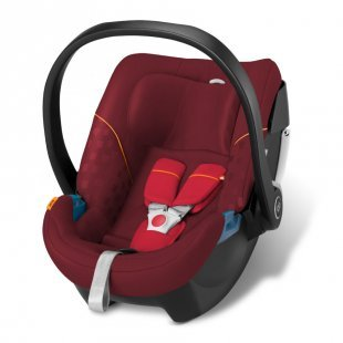 gb GOLD Babyschale Artio Dragonfire Red-red