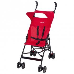 Safety 1st Peps Buggy mit Sonnenverdeck Plain Red