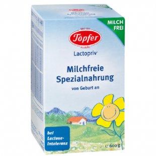 Töpfer Spezialnahrung Lactopriv Milchfrei 600 g - Gr.ab 0 Monate