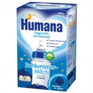 Humana Schlummermilch 600 g - Gr.ab 6 Monate