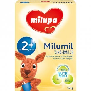 milupa Milumil Kindermilch 2+ 550 g ab dem 2. Jahr