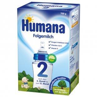 Humana Folgemilch 2 mit GOS 700 g