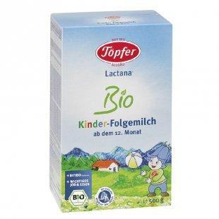Töpfer Lactana Bio Kinder Folgemilch 500 g