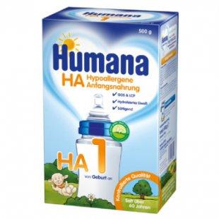 Humana Spezialnahrung HA 500 g - Gr.ab 0 Monate
