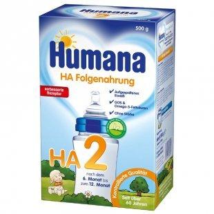 Humana Folgemilch HA 2 GOS stärkefrei 500 g