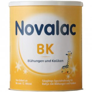 Novalac Spezialnahrung BK bei Blähungen und Koliken 800g