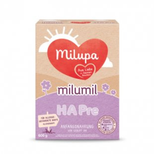 Milupa Milumil HA Pre Anfangsnahrung 600 g ab der Geburt