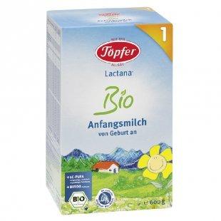 Töpfer Lactana Bio 1 Anfangsmilch 600 g