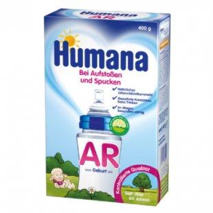 Humana Spezialnahrung AR bei Aufstoßen und Spucken 400 g - Gr.ab 0 Monate