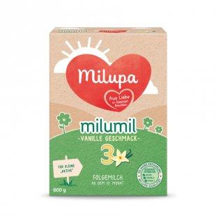 milupa Folgemilch milumil 3 Vanille Geschmack 600 g ab dem 10. Monat