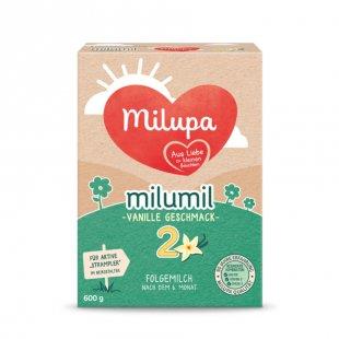 milupa Folgemilch milumil 2 Vanille Geschmack 600 g ab dem 6. Monat