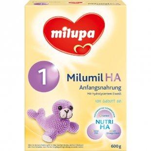 milupa Milumil HA 1 Anfangsnahrung 600 g ab der Geburt