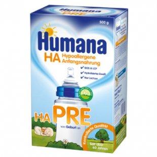 Humana Spezialnahrung HA PRE 500 g - Gr.ab 0 Monate