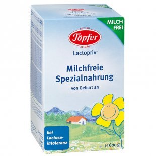 Töpfer Lactopriv milchfreie Spezialnahrung 600 g