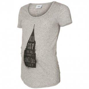 mama licious T-Shirt MLSPRING GRey Skyscraper - grau - Damen